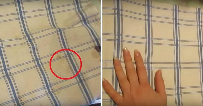 Способ, который подсмотрела у своей соседки – как отбелить кухонные полотенца до первоначального сияния