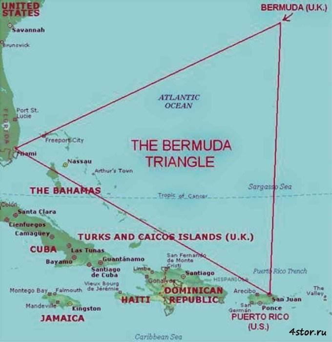 Удивительная находка под водой – попытки раскрыть тайну Бермудского треугольника