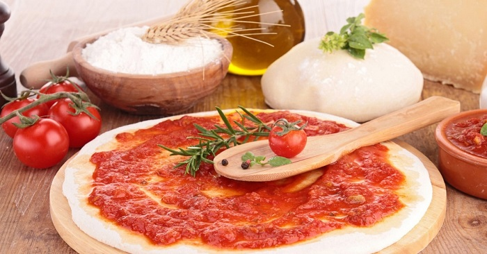 Тесто на пиццу «Как в пиццерии» - тонкое, на дрожжах, вкусное и правильное