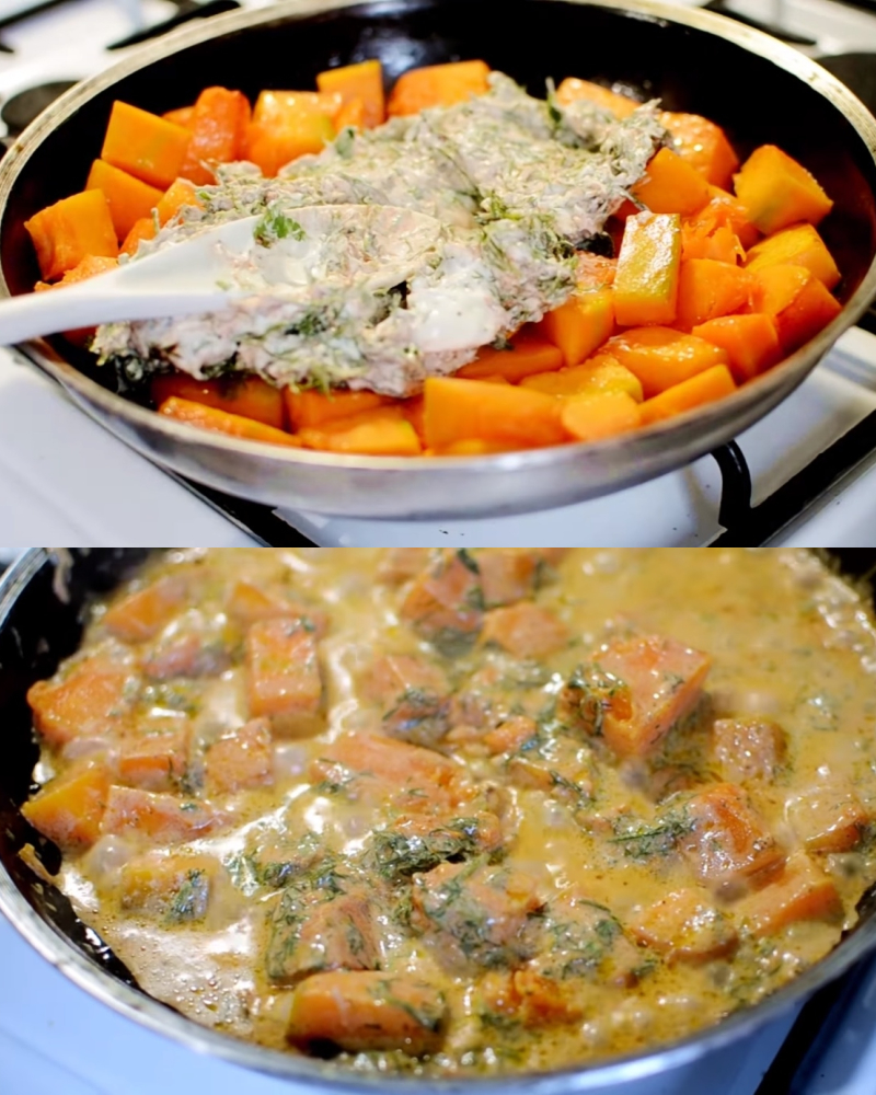 Сезон тыквы все еще в разгаре – обожаю осень уже за то, что могу готовить это блюдо