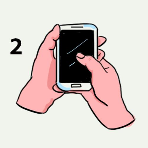А как вы держите в руках свой смартфон? Оказывается, это может кое-что рассказать о вашей личности