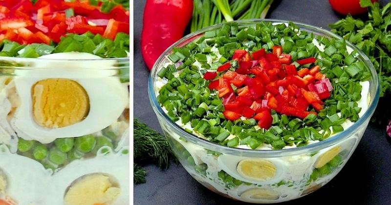 13 примеров оформления салатов для новогоднего стола – просто, красиво, изысканно