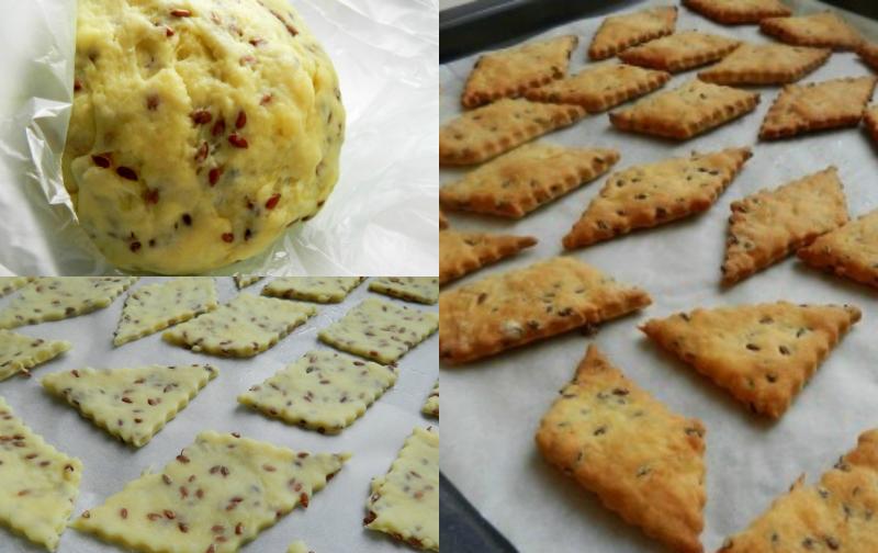 Вкуснейшее галетное печенье с семенами льна – низкокалорийное, хрустящее, полезное