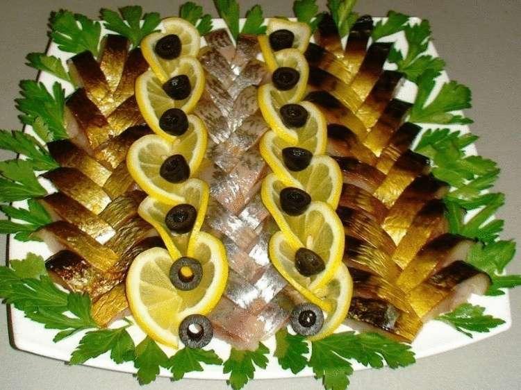 Как красиво и оригинально подать рыбу на праздничный стол – так, чтобы гости ахнули