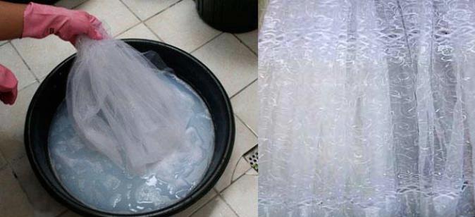 Правильный способ стирки тюли и других тканей – избавляемся от желтизны и старых пятен на них
