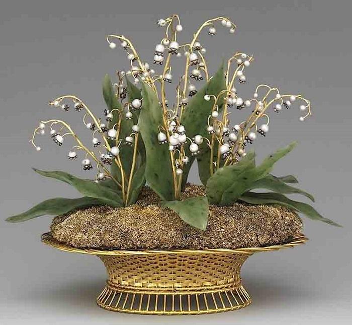 Великолепные каменные цветы Фаберже - таких шедевров я раньше не видела